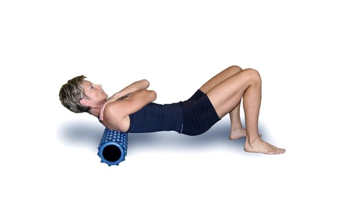 Упражнение на верхнюю часть спины
